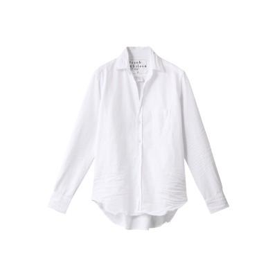 Frank&Eileen フランク&アイリーン EILEEN ストーンウォッシュドインディゴ ホワイトシャツ レディース ホワイト XS