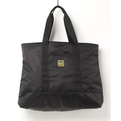 EMPORIO ARMANI / 【エンポリオ アルマーニ EA7】TRAIN SHINY ショッパーバッグ WOMEN バッグ > ハンドバッグ