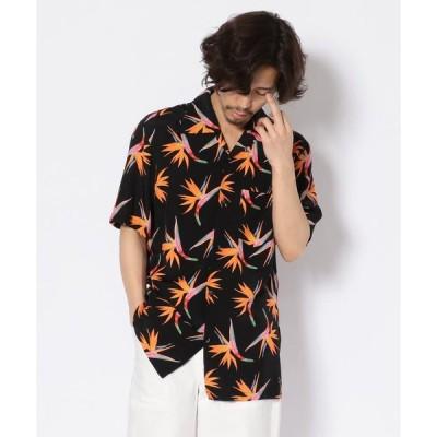 【ガーデン】Aloha Blossom/アロハ ブロッサム/BIRDS OF PARADISE/バーズオブパラダイス/アロハシャツ