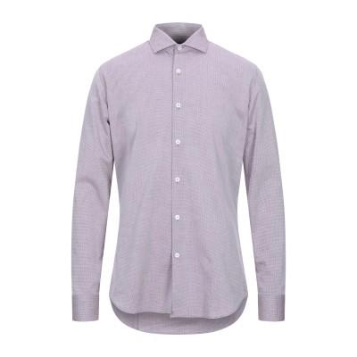 LIU •JO MAN シャツ ボルドー 40 コットン 100% シャツ
