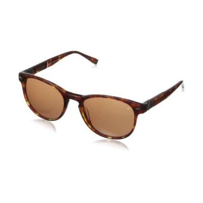 John Varvatos Men's V774 Tortoise 51mm Sunglasses, Size 51-19-145 B42 並行輸入品