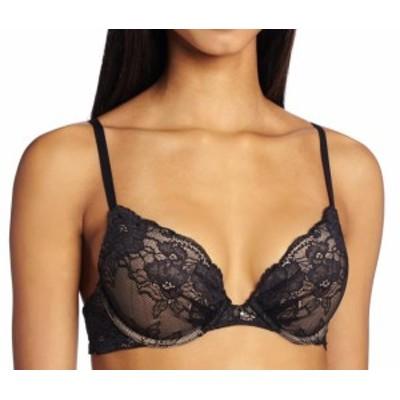 Maidenform メイデンフォーム ファッション 下着 Maidenform Womens Bras Black Size 36A Ultimate Lace Embellished Push-Up