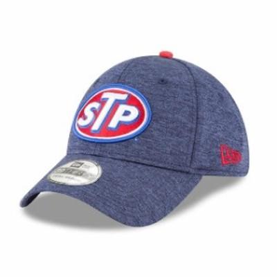New Era ニュー エラ スポーツ用品  New Era Darrell Wallace Jr. Navy STP Driver 39THIRTY Flex Hat