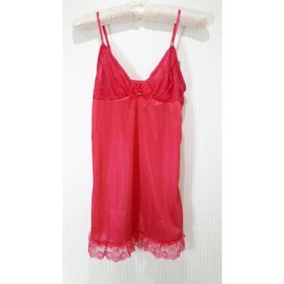 SHAKE BODY キャミ スリップ インナ- Sexy 可愛い ランジェリー ロング丈 ピンク ラメ 626339