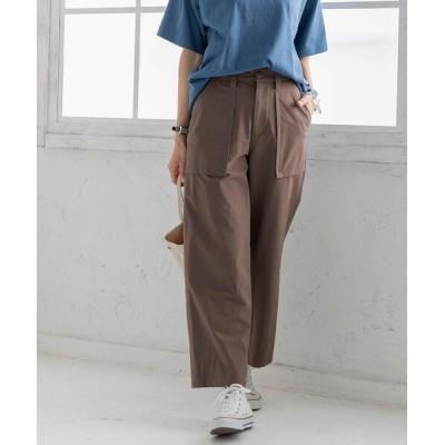 coen / 吸湿速乾機能付きナイロンストレッチベイカーパンツ WOMEN パンツ > カーゴパンツ