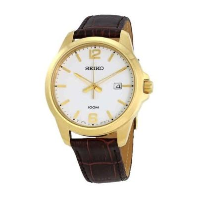 セイコー SEIKO 男性用 腕時計 メンズ ウォッチ ホワイト SUR252