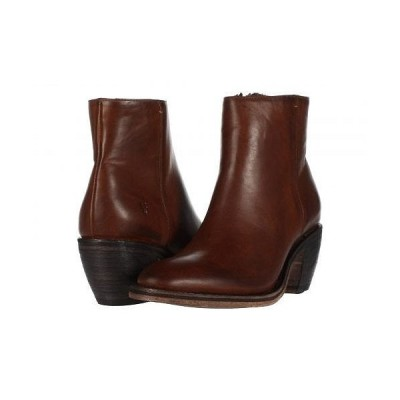 Frye フライ レディース 女性用 シューズ 靴 ブーツ アンクルブーツ ショート Rosalia Bootie - Caramel Antique Pull Up