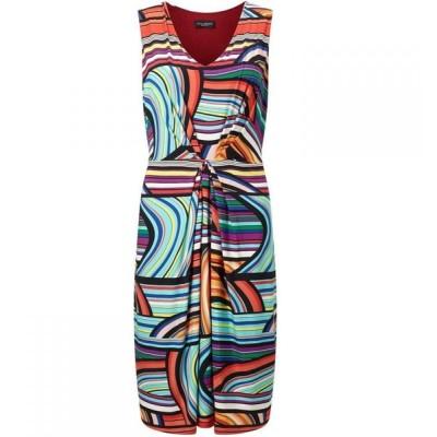 ジュームズ レイクランド James Lakeland レディース パーティードレス ワンピース・ドレス Stripe Print Dress Multi-Coloured