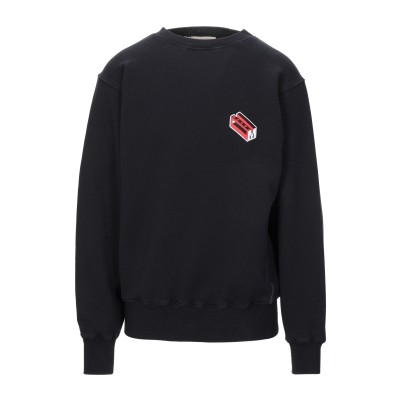 マルニ MARNI スウェットシャツ ブラック 46 コットン 100% / ポリウレタン スウェットシャツ