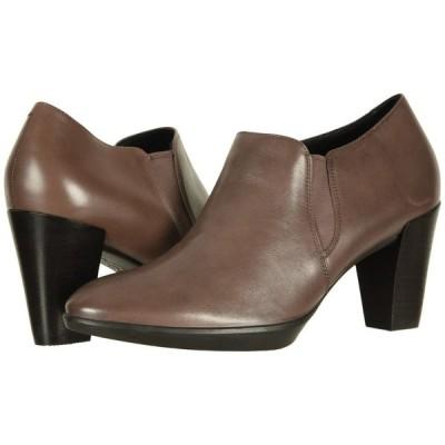 エコー ECCO レディース ヒール シューズ・靴 Shape 55 Plateau Stack Shootie Deep Taupe Calf Leather
