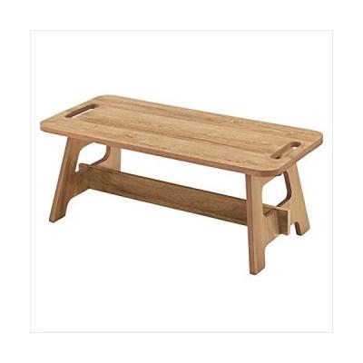 東谷 フォールディングテーブルS OL-813NA W75×D35×H28 ナチュラル