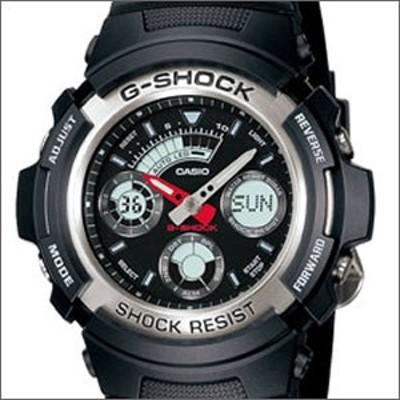 海外CASIO 海外カシオ 腕時計 AW-590-1A メンズ 男 G-SHOCK(ジーショック) デジタルウォッチ 文字盤カラー ブラック