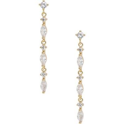 エティカ ETTIKA レディース イヤリング・ピアス ドロップピアス ジュエリー・アクセサリー Linear Drop Earrings Gold