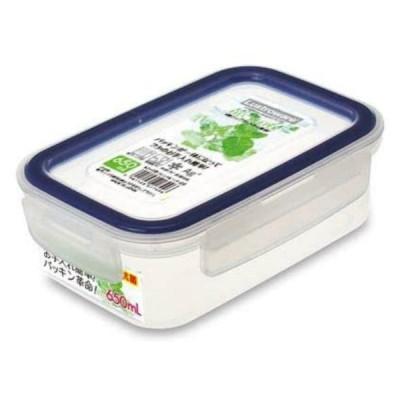 岩崎工業 イージーケア フードケース 650ml ブルー A2172B 日本製 抗菌 レンジ対応 食洗機対応 保存容器 タッパー