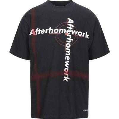 アフターホームワーク AFTERHOMEWORK メンズ Tシャツ トップス t-shirt Black