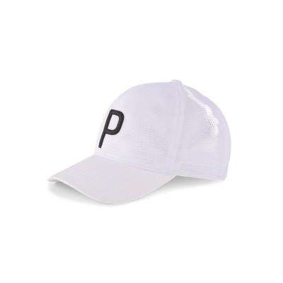 【プーマ】 ゴルフ ブリーザー P 110 スナップバック キャップ メンズ BRIGHTWHITE OSFA PUMA