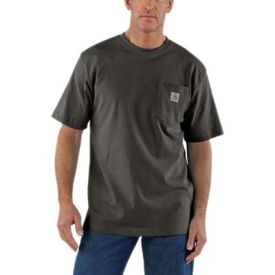 カーハート Carhartt メンズ Tシャツ トップス Workwear Pocket Short - Sleeve T - Shirt Peat