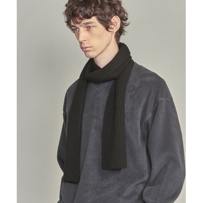 【UNITED ARROWS LTD OUTLET】 BY アゼ ニット マフラー メンズ ブラック FREE UNITED ARROWS LTD.OUTLET