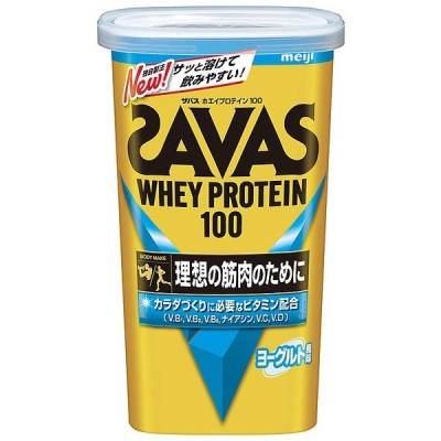 SAVAS ザバス ザバス ホエイプロテイン100 ヨーグルト14食分 CZ7461 サプリメント NONE F