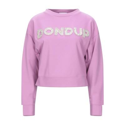 ドンダップ DONDUP スウェットシャツ ライトパープル XS レーヨン 69% / ナイロン 26% / ポリウレタン 5% スウェットシャツ