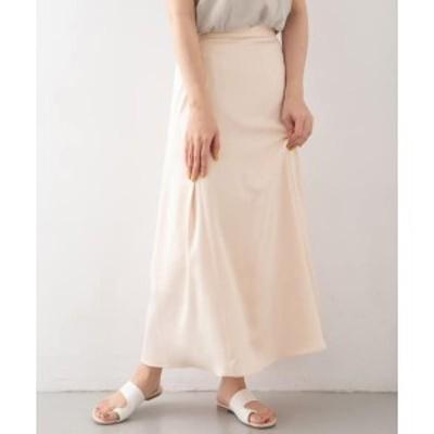 KBF(KBF)/レディススカート(サテンAラインスカート)
