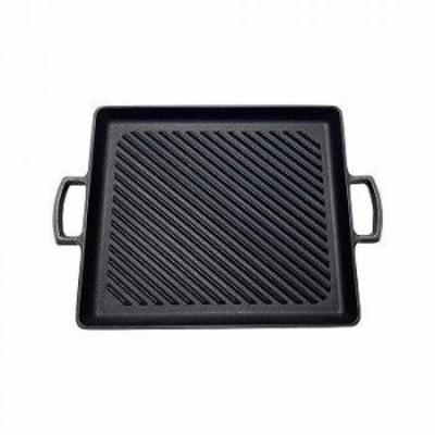 (7月下旬入荷予定)岩鋳 南部鉄器 オイルプレートグリル 23014 【送料無料】(調理器具、フライパン、グリルパン、炒め鍋、キッチン)