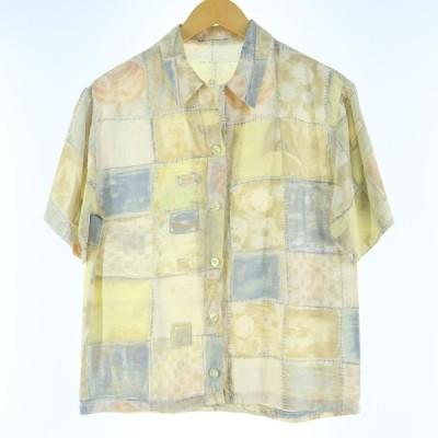 半袖 オープンカラーシャツ レディースM /eaa029177