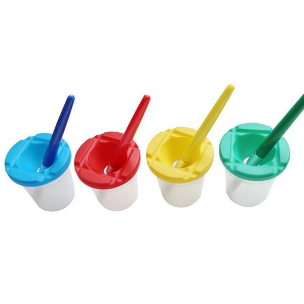 兒童水彩顏料洗筆杯 顏料杯 塗鴉彩繪 水彩筆 【RC3585】《Jami》
