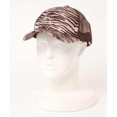 STYLEBLOCK / アニマル柄メッシュキャップ WOMEN 帽子 > キャップ