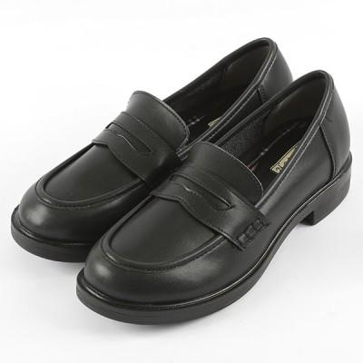 レディース ローファー 4 ブラック 22.5cm〜25cm レディス 靴 シューズ