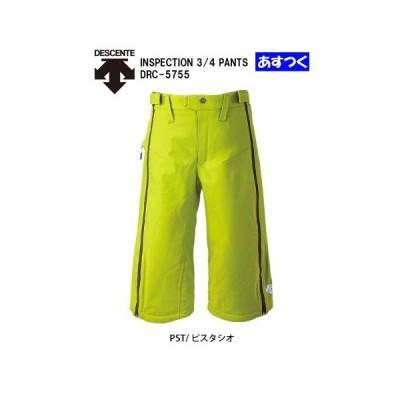 '15-16デサントDESCENTEスキーRCショートパンツ「インスペクション 3/4パンツ/ピスタシオ」DRC-5755-PST