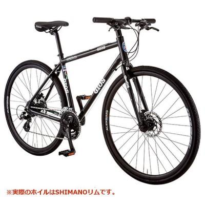 ジオス ミストラル ディスク ハイドロリック SHIMANO WH-RX010 (ブラック) 2020 GIOS MISTRAL DISC HYDRAULIC クロスバイク