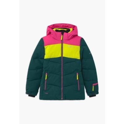 アイスピーク キッズ ファッション LAGES UNISEX - Snowboard jacket - antique green