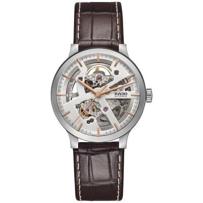 ラド 腕時計 アクセサリー レディース Women's Swiss Automatic Centrix Brown Leather Strap Watch 38mm R30179105 Brown