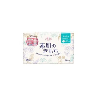 大王製紙株式会社  エリス 素肌のきもち スリム 羽つき (多い昼用) 18枚