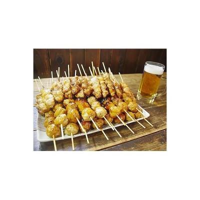 田子町 ふるさと納税 国産鶏肉 あべどり 焼きとり65本【もも串+つくね串セット】