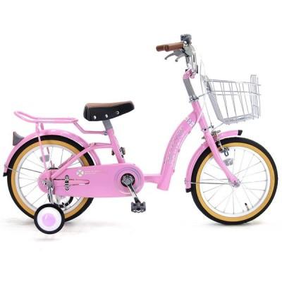 16インチ 子供用自転車 ジェニファー(ピンク)【女の子向け】【オンライン限定】【クリアランス】