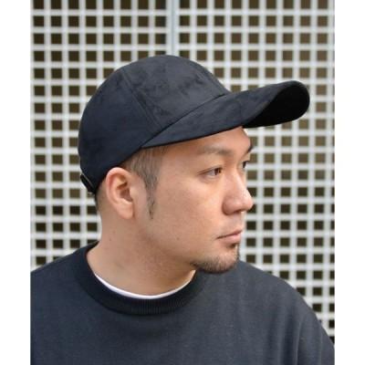 帽子 キャップ QUARTER GALLERY ロングブリムスウェードCAP