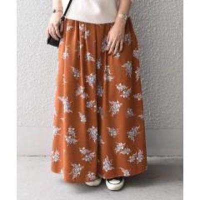 シップスフラワーギャザーマキシスカート【お取り寄せ商品】