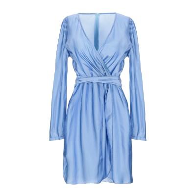 VANESSA SCOTT ミニワンピース&ドレス アジュールブルー M ポリエステル 100% ミニワンピース&ドレス