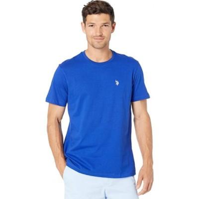 ユーエスポロアッスン U.S. POLO ASSN. メンズ Tシャツ トップス Crew Neck Small Pony T-Shirt Cobalt Blue