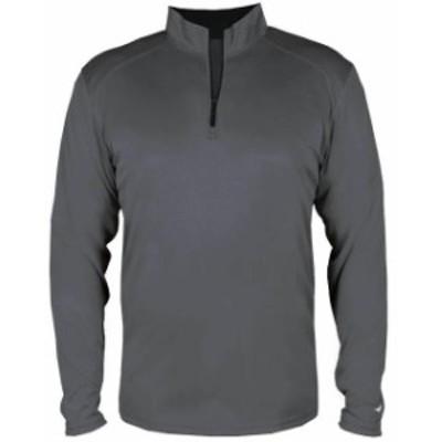 スポーツ用品 ベースボール Badger Mens B-Core 1/4 Zip Pullover