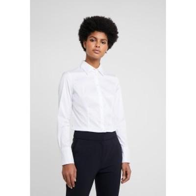 フューゴ レディース シャツ トップス THE FITTED - Button-down blouse - white white