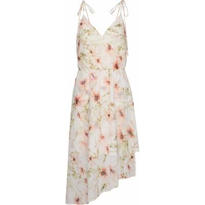 HAUTE HIPPIE ミニワンピース&ドレス アイボリー M ポリエステル 100% ミニワンピース&ドレス