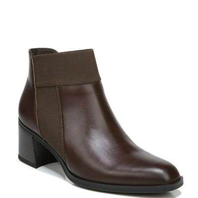 ナチュライザー レディース ブーツ・レインブーツ シューズ Story Leather Block Heel Booties