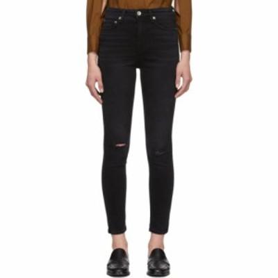 ラグandボーン rag and bone レディース ジーンズ・デニム ボトムス・パンツ black nina high-rise ankle skinny jeans Roswell