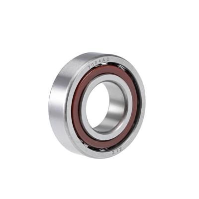 uxcell アンギュラ玉軸受 7004AC 20x42x12mm 単列 オープンタイプ クロム鋼 Z1ノイズレベル 1個入り