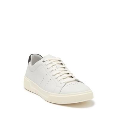ヴィンス メンズ スニーカー シューズ Brady Lace-Up Leather Sneaker WHITE
