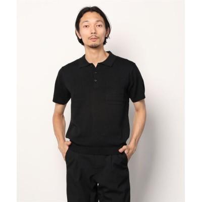 nano・universe / :バンブーミックスニットソーポロシャツ 半袖 MEN トップス > ポロシャツ