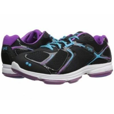 Ryka ライカ レディース 女性用 シューズ 靴 スニーカー 運動靴 Devotion Black/Bright Violet/Detox Blue 1【送料無料】